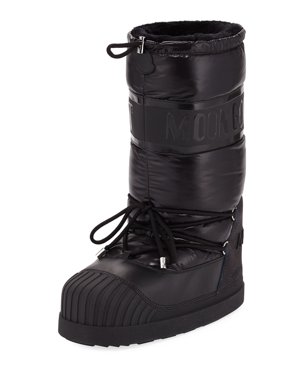 4f1e4bb97fd5 Moncler Venus Nylon Laced Moon Boot