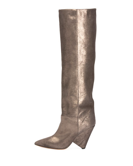 Lokyo Scrunch Knee Boot