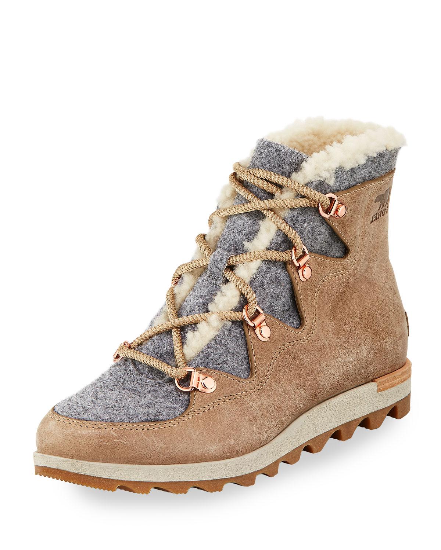 Sorel Sneak Chic Alpine Holiday Boot