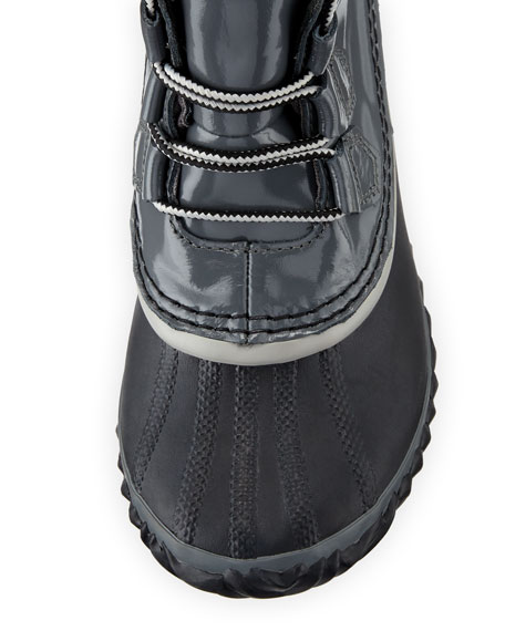 Out N About Rain Duck Ankle Bootie