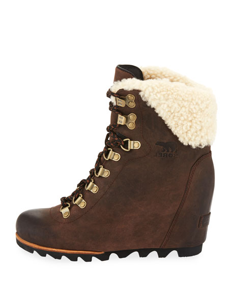 Conquest Water-Resistant Wedge Bootie