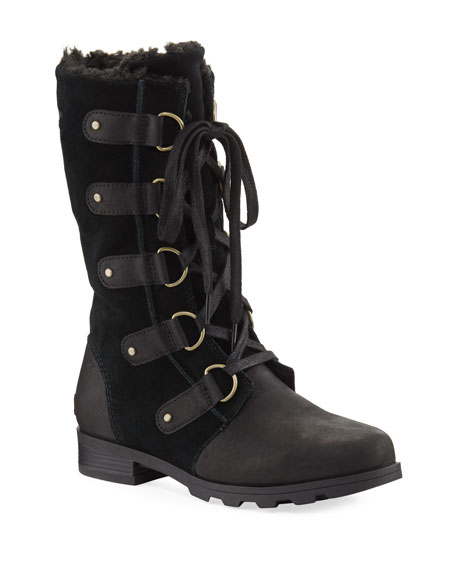 Sorel Emelie Mixed Leather Boot