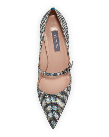 Nirvana Iridescent 70mm Pump, Silver