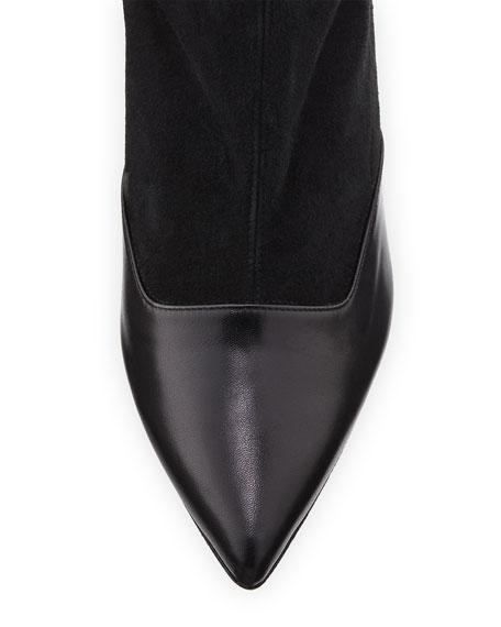 Felice Suede/Calf Leather Bootie