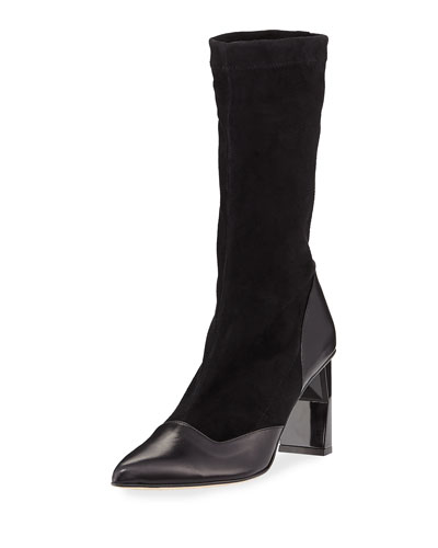 Felice Suede/Calf Leather Bootie