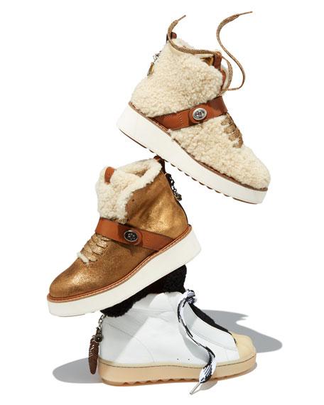 Urban Hiker Glitter Platform Boot