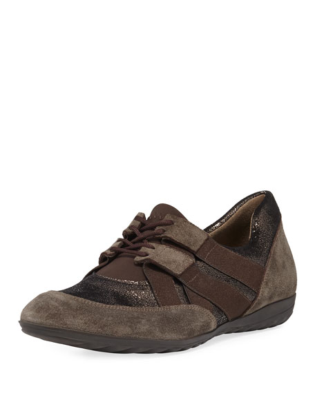 Sesto Meucci Bamy Mixed Leather Sneaker
