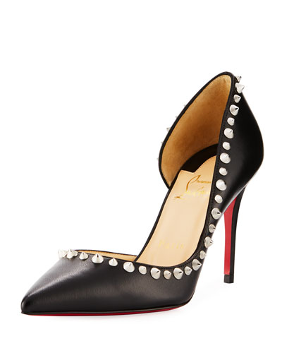 Irishell Spike Napa Red Sole Pump
