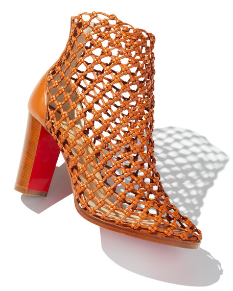 Porligatica Caged Red Sole Bootie