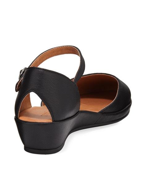 Noa Star Mary Jane Leather Flat