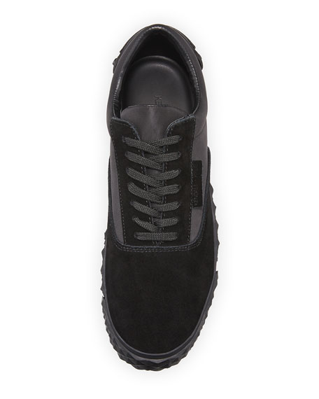 Reign Suede Platform Sneaker