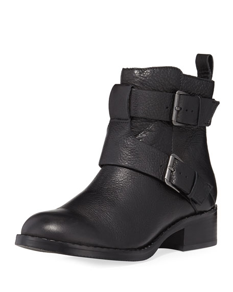Gentle Souls Best Of Crinkled Moto Bootie