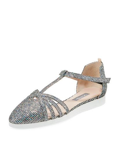 Meteor Carrie Iridescent Sneaker Sandal