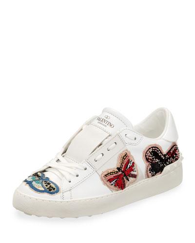 Open Butterfly Platform Sneaker