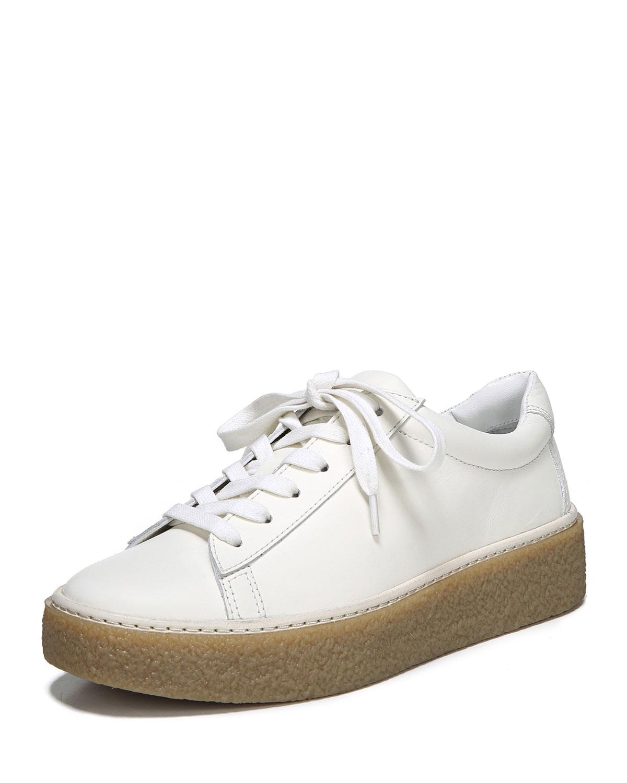 f7de9c28548 Vince Neela Leather Platform Sneaker