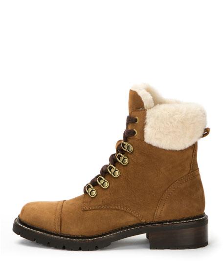 Samantha Brushed Hiker Boot