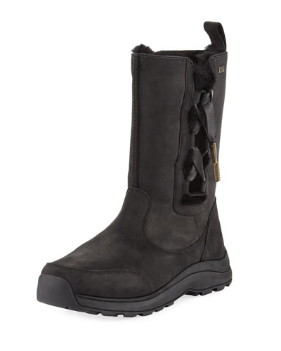 Suvi Corset Waterproof Boot, Black
