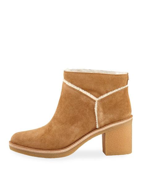 Kasen Soft Suede Ankle Bootie