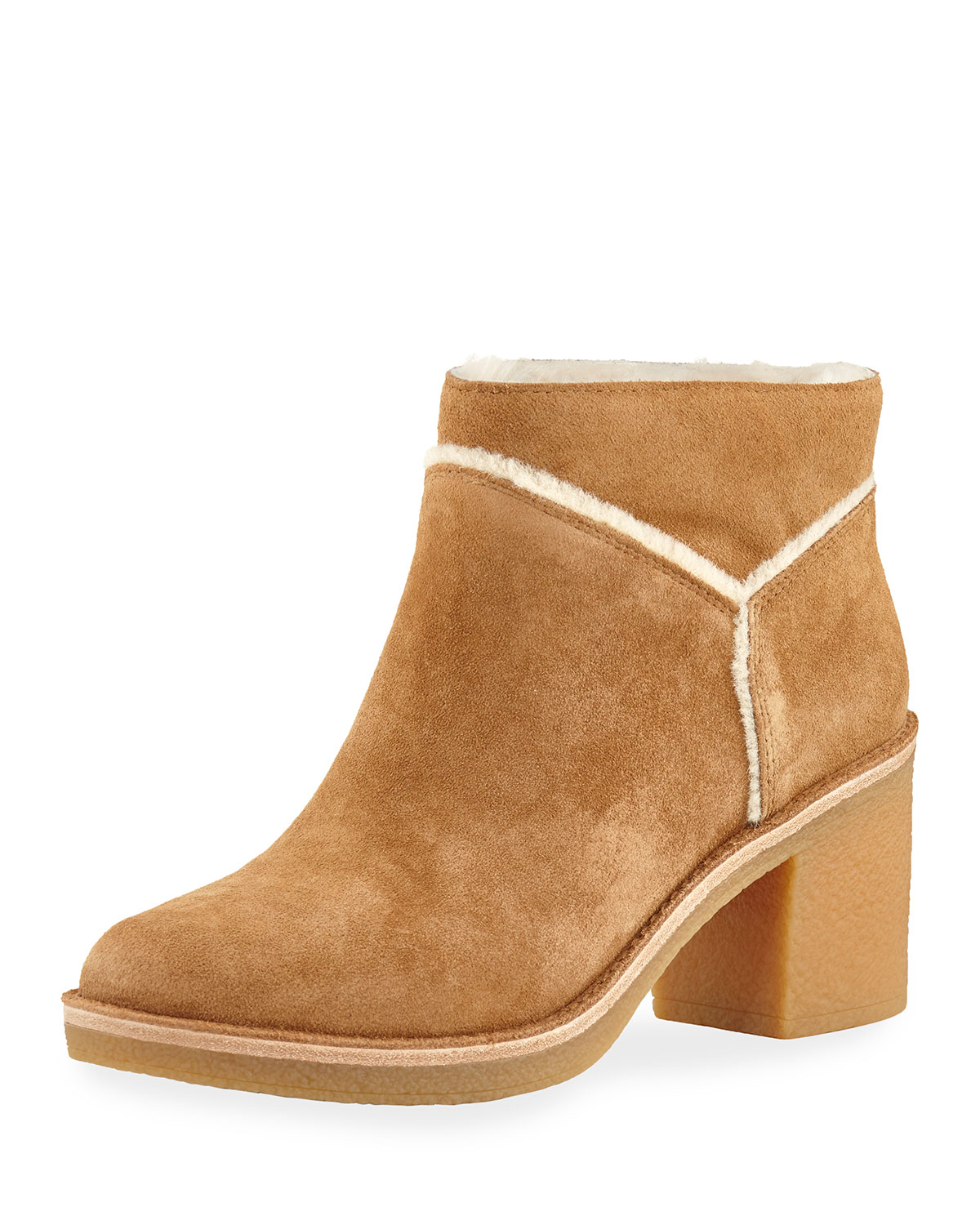 418ff6195ad Kasen Soft Suede Ankle Bootie