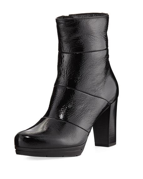 Mirabella Patent Leather Bootie