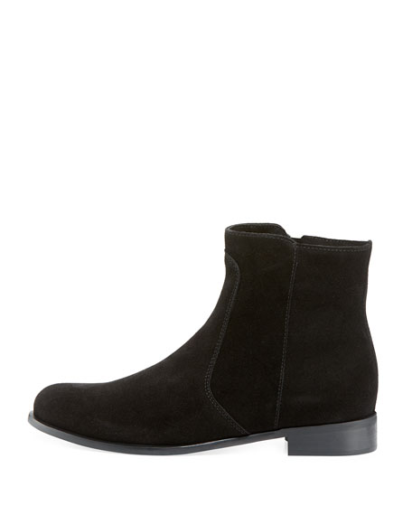 Sophie Suede Ankle Bootie