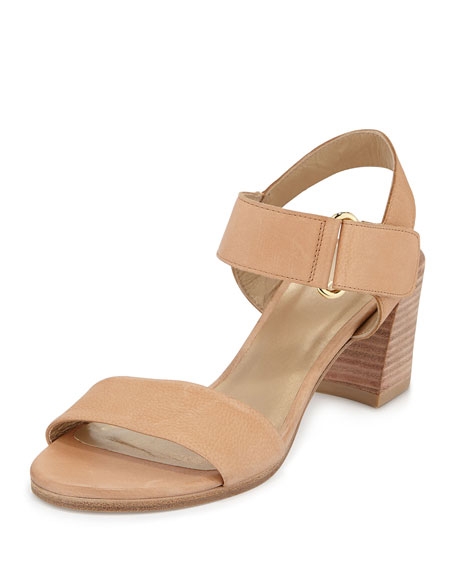 Stuart Weitzman Broadband Leather City Sandal