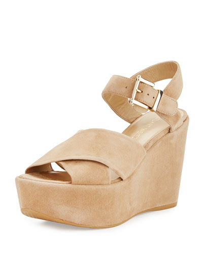 Realdeal Suede Wedge Sandal