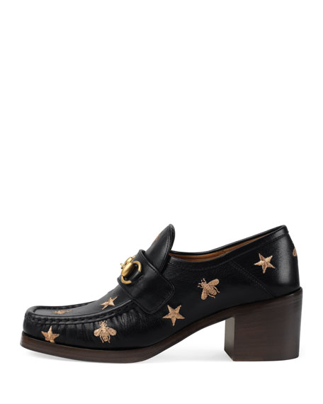 55mm Vegas Bee & Star Stitch Loafer