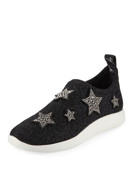 Giuseppe Zanotti Single Star Sparkle Sneaker