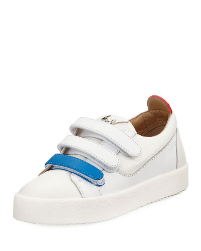 May Two-Tone Grip-Strap Sneaker