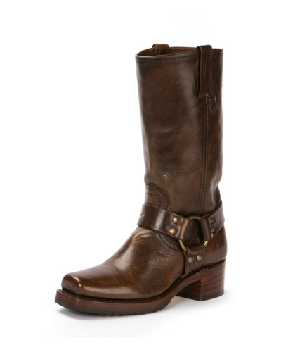 Heirloom Harness Tall Distressed Boot