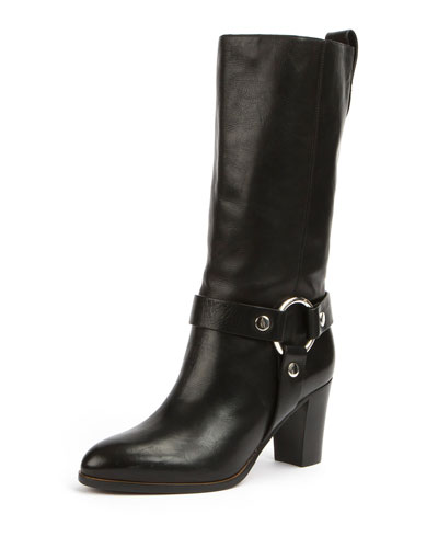 Modern Harness Knee Boot