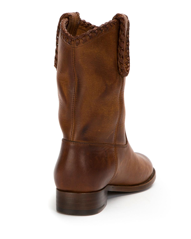 Frye Melissa Whipstitch Short Boot GidLD892B
