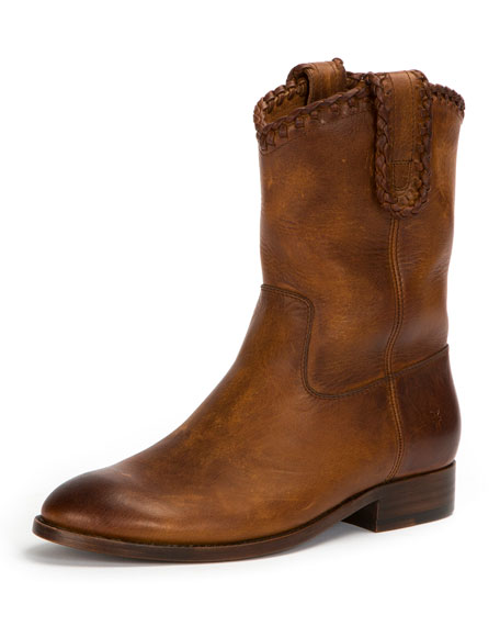 Frye Melissa Whipstitch Short Boot