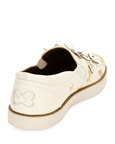 Butterfly Slip-On Skate Sneaker