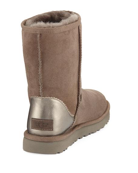 Classic Short II Metallic Suede Boot