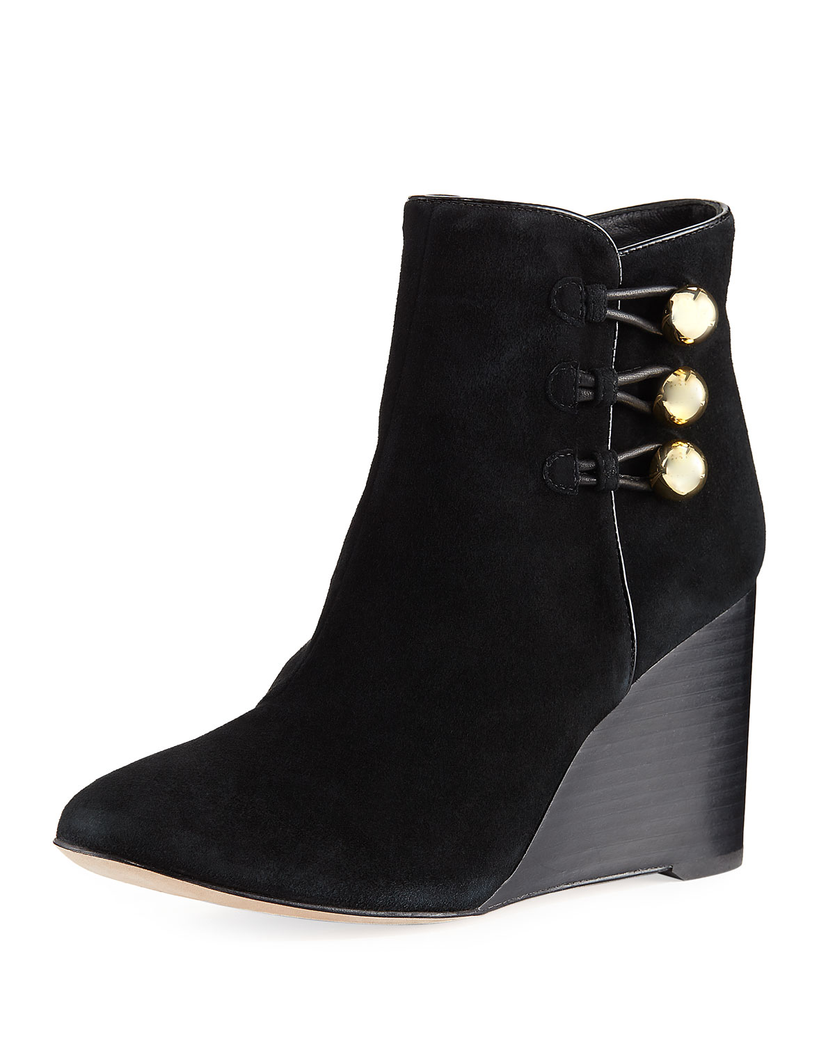 64d2a9f0b2c kate spade new york geraldine suede wedge bootie