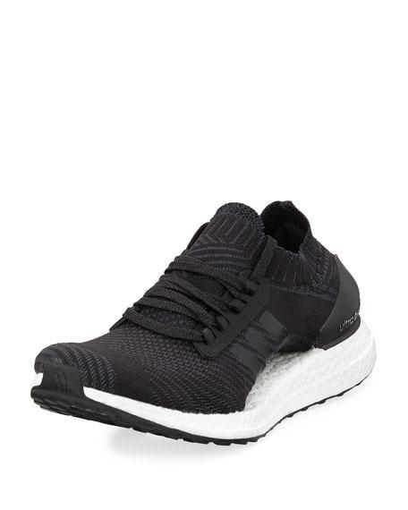 Adidas Ultra Boost X Knit Sneaker, Black/White