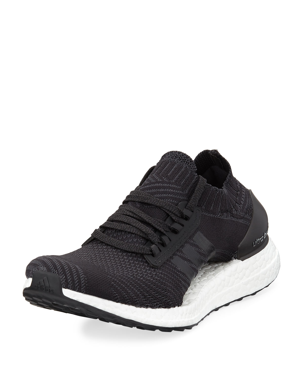 Ultra Boost X Knit Sneaker, BlackWhite
