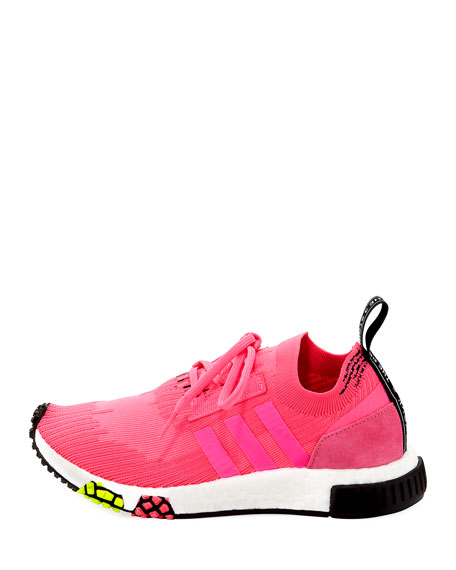 NMD_Racer Primeknit Trainer Sneakers, Solar Pink