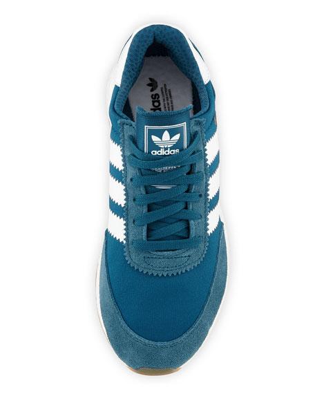 I-5923 Suede Platform Sneakers