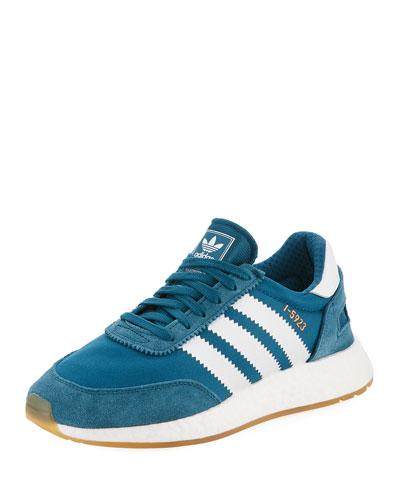 I-5923 Suede Platform Sneaker