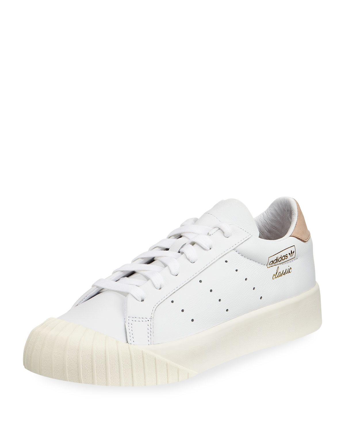 Adidaseveryn Platform Perforated Perforated White Sneakers Platform Adidaseveryn qUfRrq
