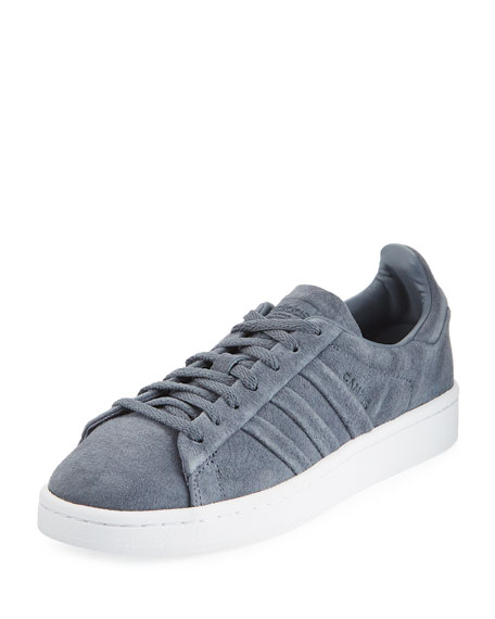 Adidas Campus Stitch & Turn Suede Lace-Up Sneakers,