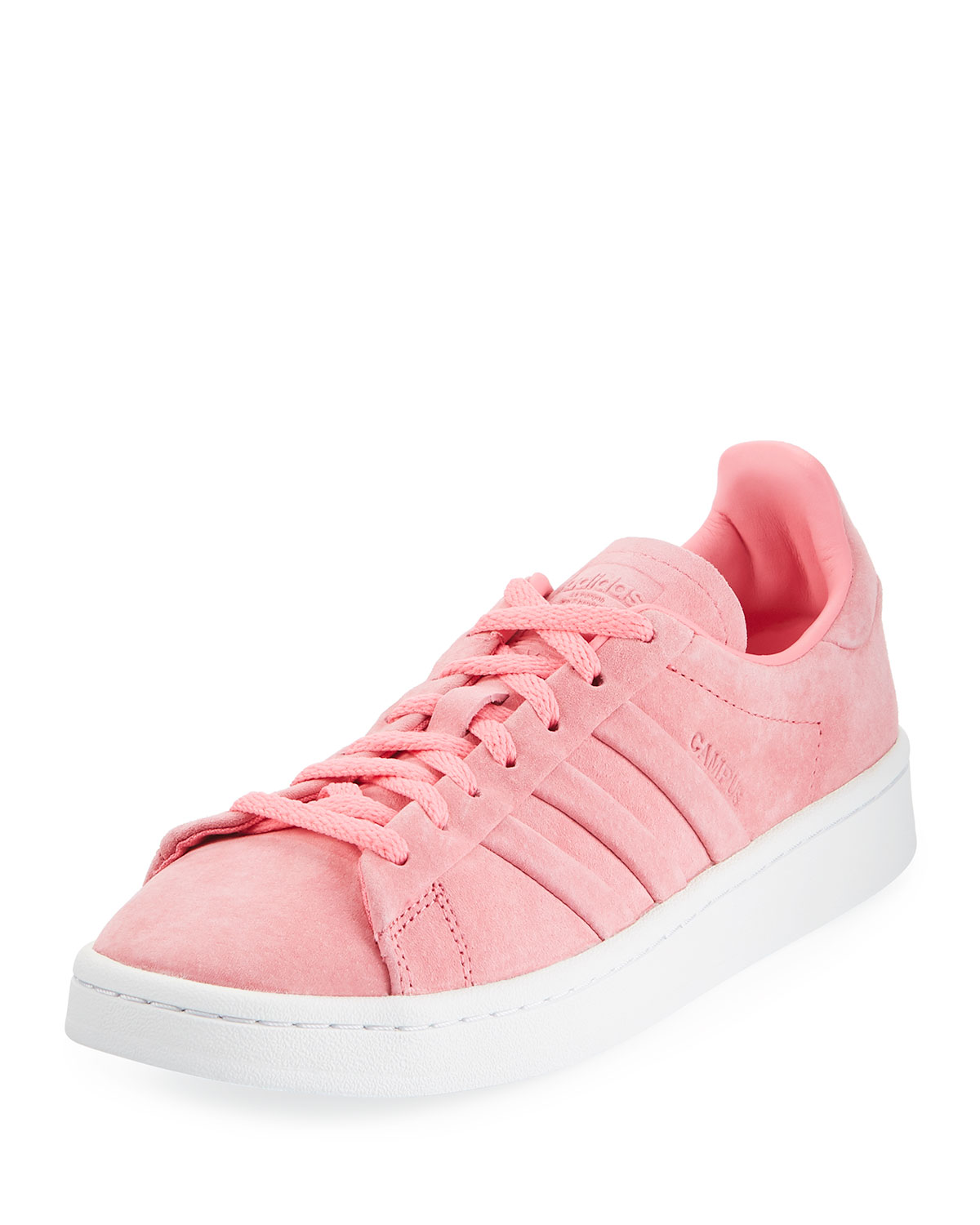 6769bd1a485e Adidas Campus Stitch   Turn Suede Lace-Up Sneakers