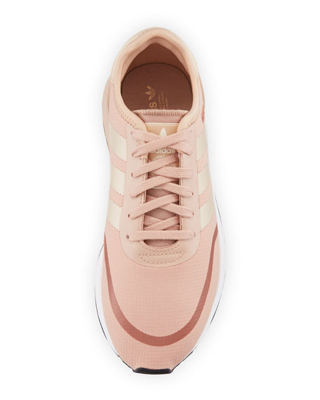 N-5923 Mixed Platform Sneakers