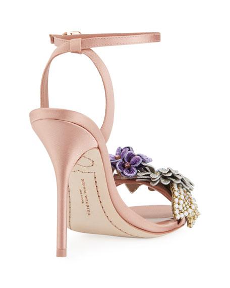 Lilico Satin Glitter Sandal
