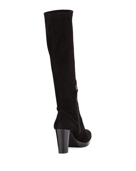 Roselyn Knee-High Suede Boot