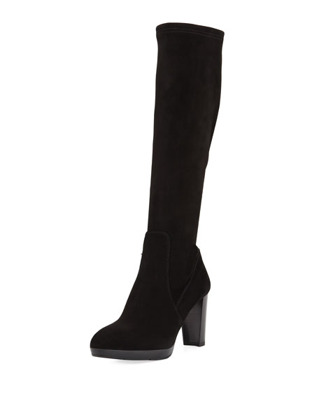 Aquatalia Roselyn Knee-High Suede Boot