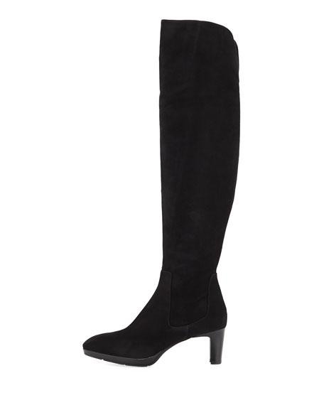 Danika Over-The-Knee Suede Boot